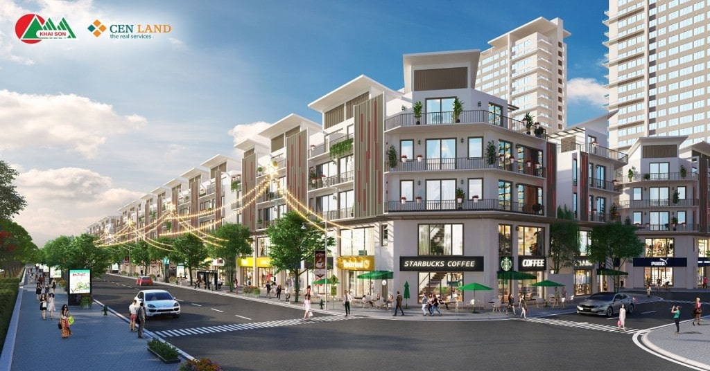 Nhượng quyền sở hữu căn hộ 5.42 liền kề Shophouse đẹp tại Town 5 – trong số những căn hộ đẹp nhất Khai Sơn City