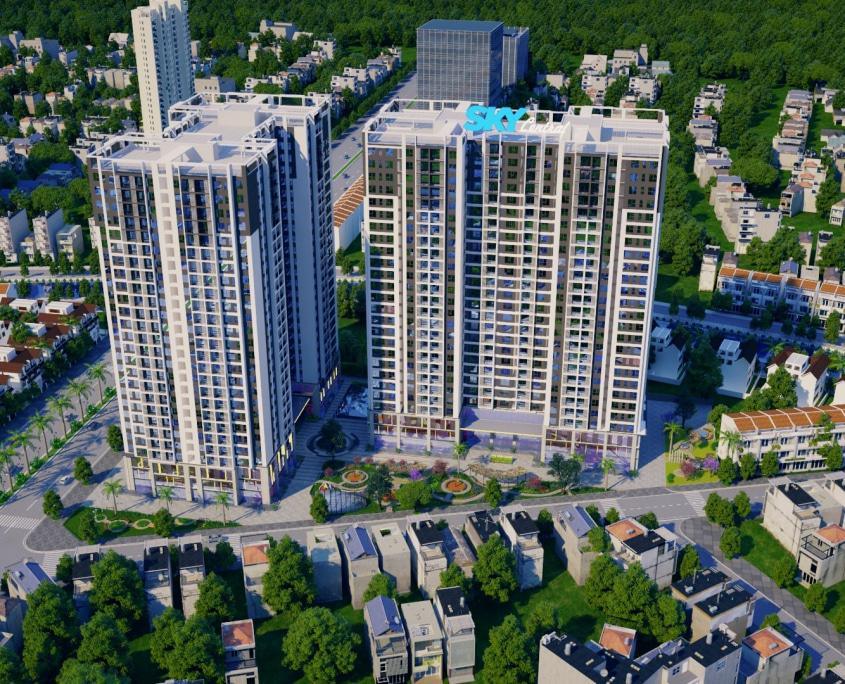 Nhượng hoặc Cho thuê suất ngoại giao 337 m2 sàn văn phòng T4 - Sky Central 176 Định Công