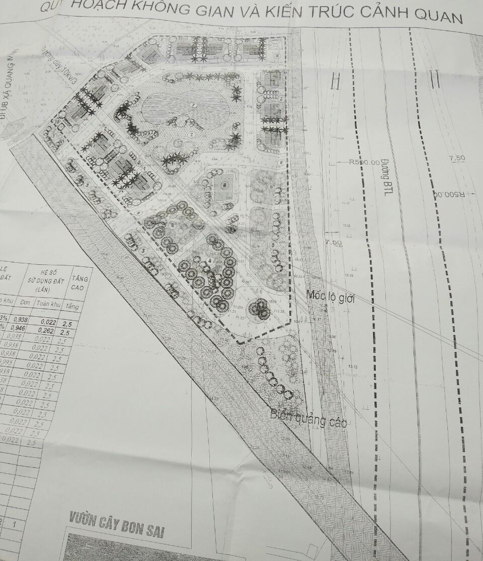 Bán đất dự án mặt đường Võ Văn Kiệt 22.000 m2