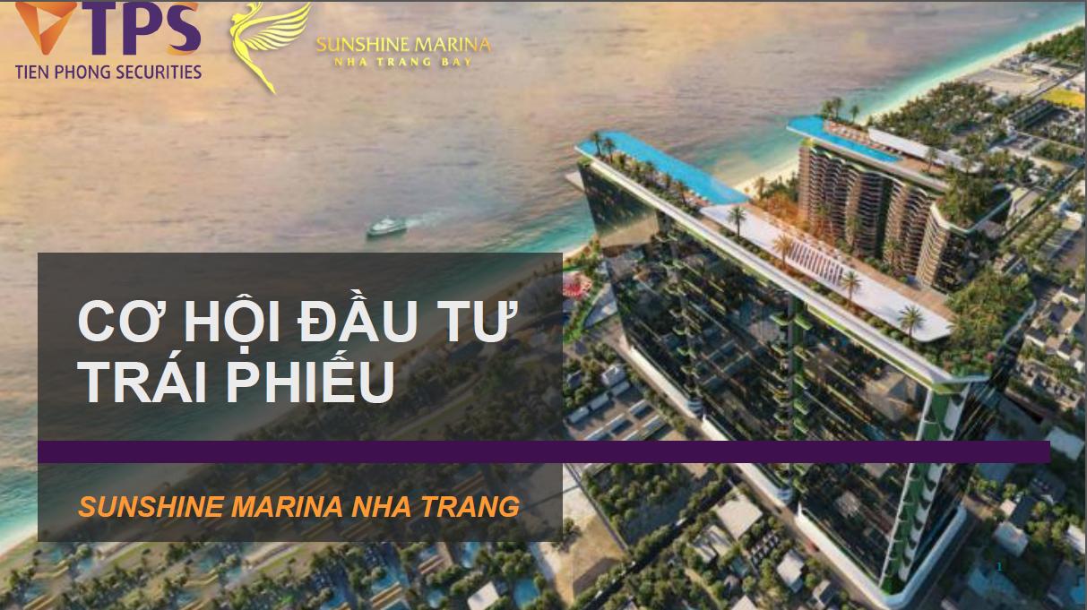 Trái phiếu Công ty cổ phần Sunshine Marina Nha Trang (Chờ mua)